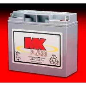 12 Volt 18 Amp/hour Mobility Scooter Batteries by MK