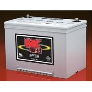 12 Volt 55 Amp/hour Mobility Scooter Batteries by MK