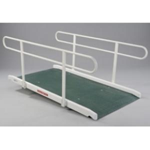 Wide Ramp Double Handrail