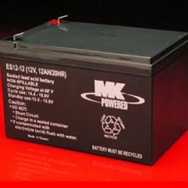 12 Volt 12 Amp/hour Mobility Scooter Batteries by MK