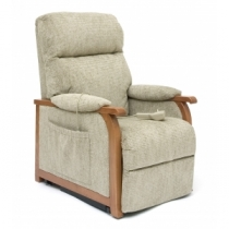 Pride C1 Wooden Arms Riser Recliner